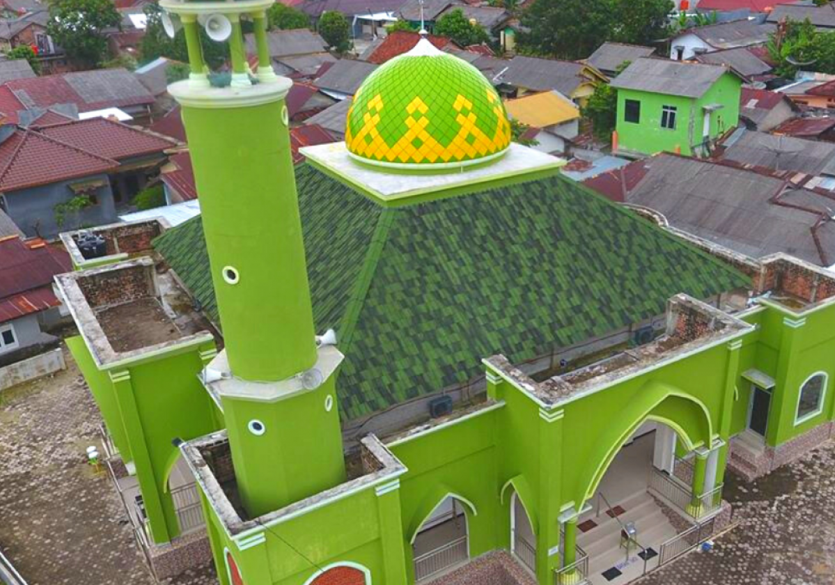 ONDUVILLA Shaded Green